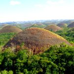 The Chocolate Hills in Beautiful Bohol