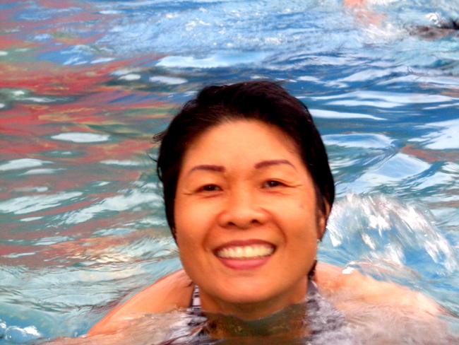 big smile from my Filipina wife