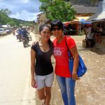pretty niece and lovely asawa in el nido palawan