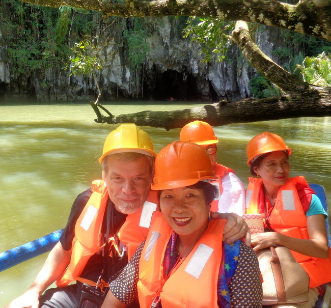 our-tour-boat-underground-river-palawan