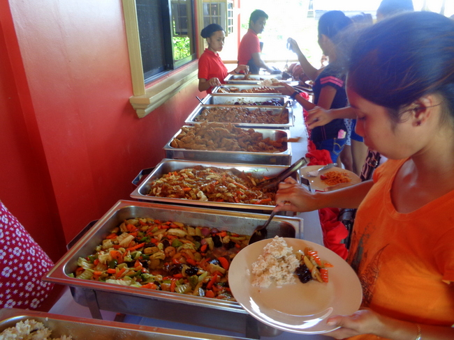 Ruthird Catering Guimaras did a superb job