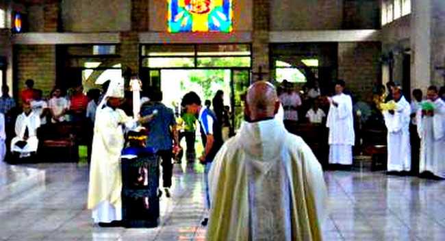 Easter Mass Trappist Monastery Guimaras