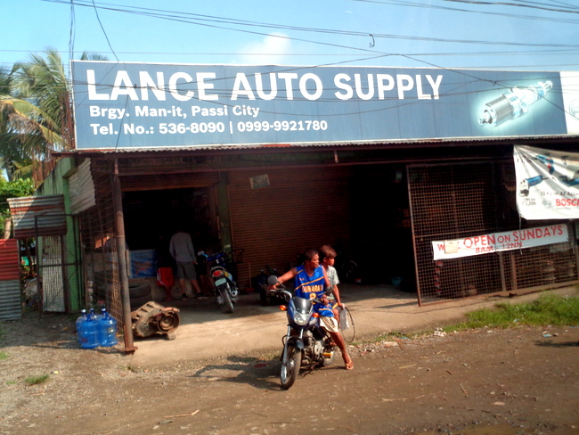 Lance Auto Supply Passi City