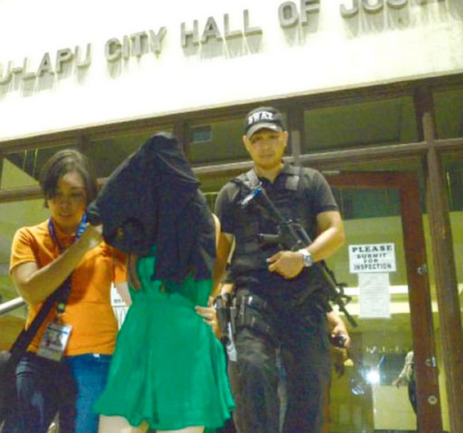 female shabu dealer caught philippines