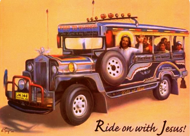 Would Jesus Ride Iloilo City Jeepneys?