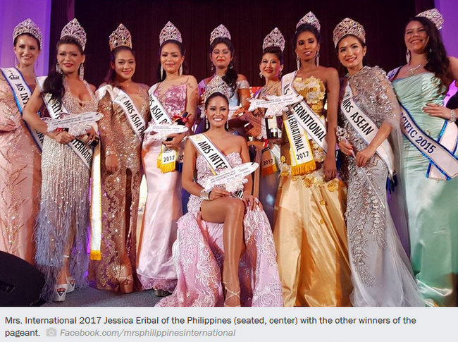 Another crown for PH Pinay wins Mrs