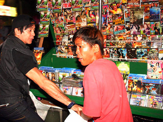Buying Pirated DVDs in the Philippines