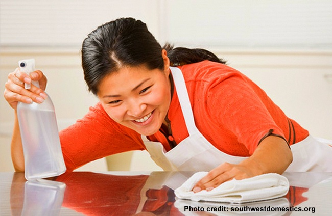 New Philippines Domestic Helper Hired!