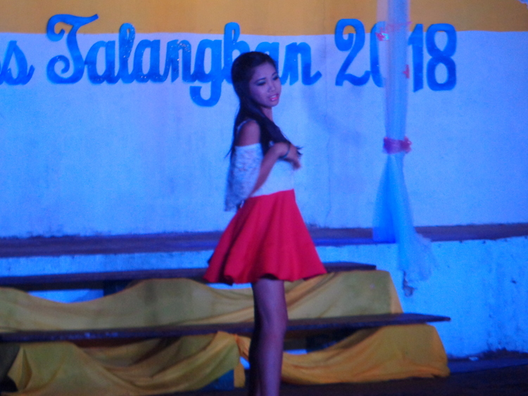 Miss Talangban contestant opening segment - Pretty Pinays Populate Philippines Pageant