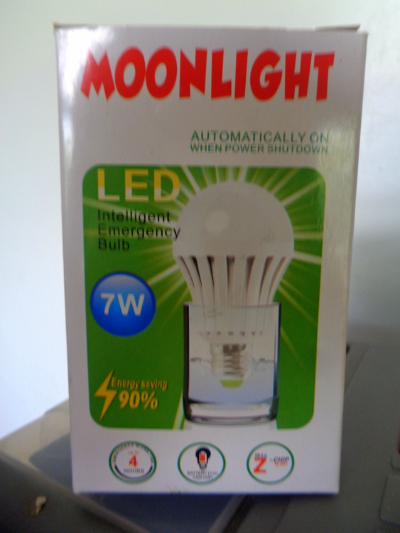 LED emergency light bulb philippines - Rechargeable Fans & Light Bulbs Battle Brownouts