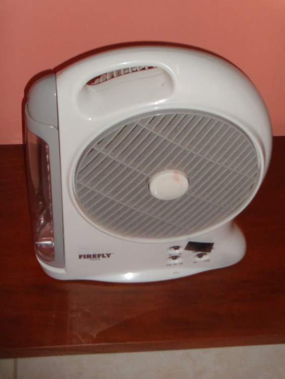 Smaller Firefly rechargeable fan Philippines - Rechargeable Fans & Light Bulbs Battle Brownouts