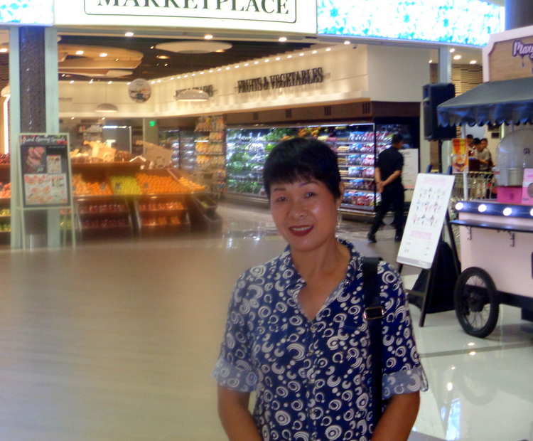 My lovely asawa The Marketplace Festive Walk Mall Iloilo - Expat's Extended Festive Walk Mall Review