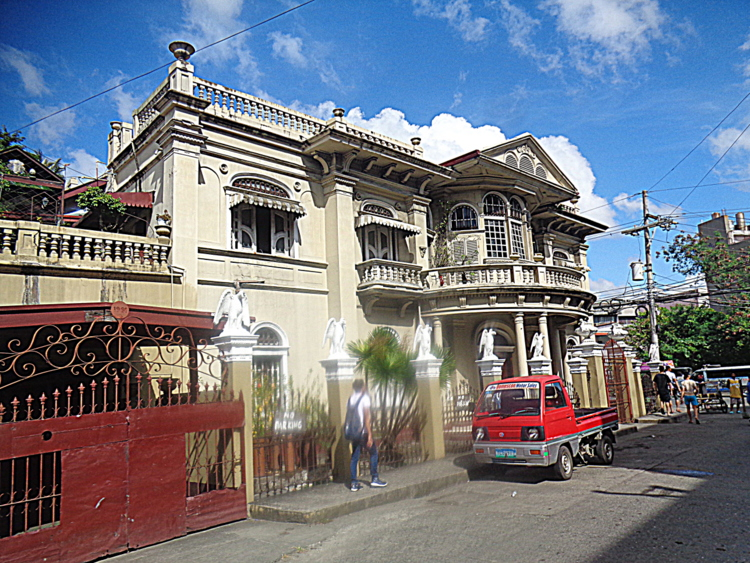 Outside Ortiz Wharf Iloilo City - Expat's Extended Festive Walk Mall Review