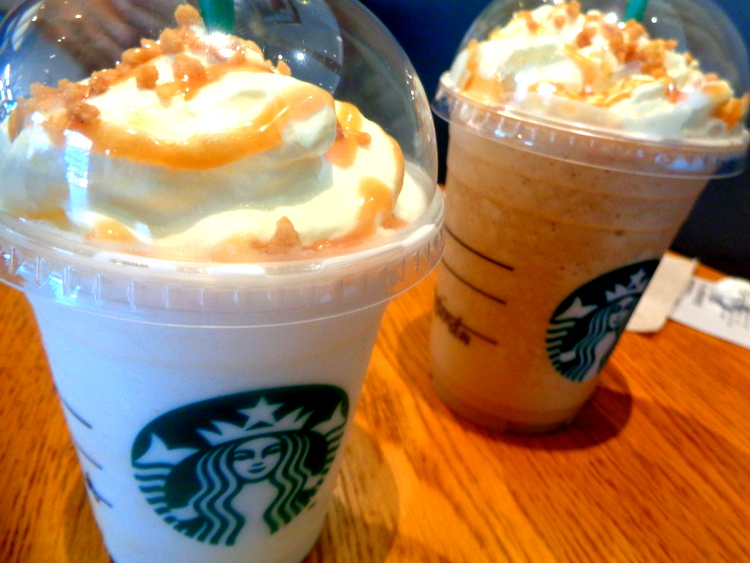 Starbucks specials - Expat's Extended Festive Walk Mall Review