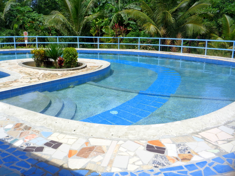 another look our island Philippines swimming pool - American Expat PH Monthly Budget Family of Six plus Eight Dogs