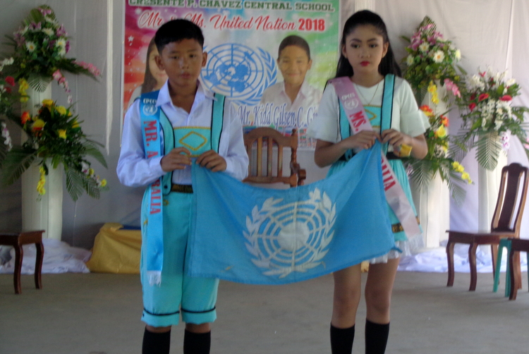 Mr and Ms Australia - Guimaras Central School Mr & Ms United Nations