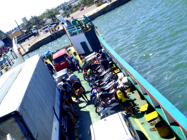 view from our RoRo to Bacolod - 8 Extreme Explorers Exit Guimaras for Bacolod Adventure