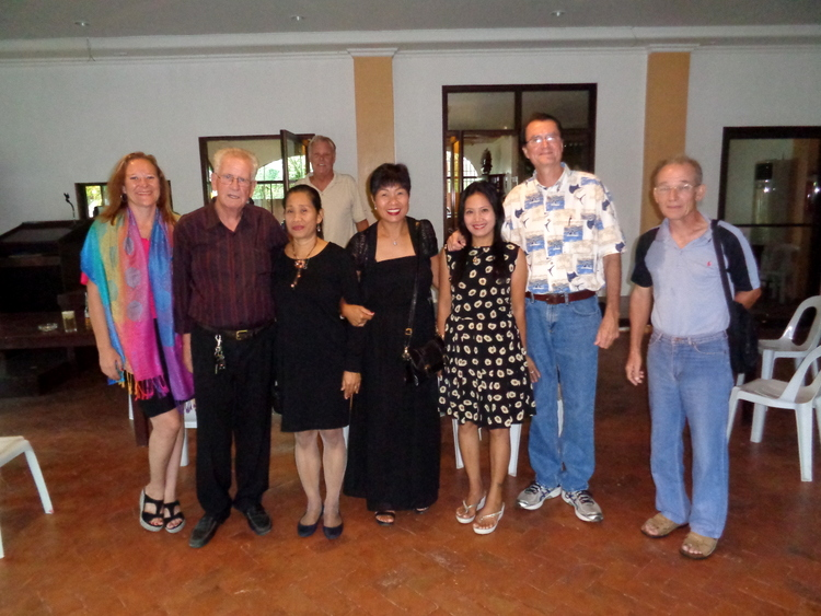 Peter and the gang at the Old Shirven - Stark Raving Mad Lunatics Move to the Philippines