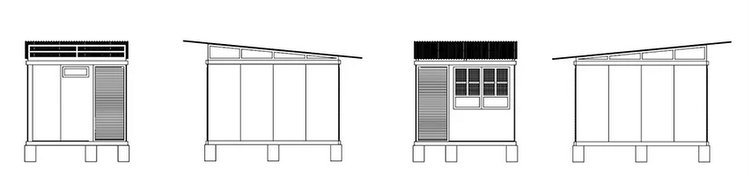 CUBO is a system of modular bamboo homes by earl patrick forlales - Amazing Low Cost 4-Hour Bamboo House