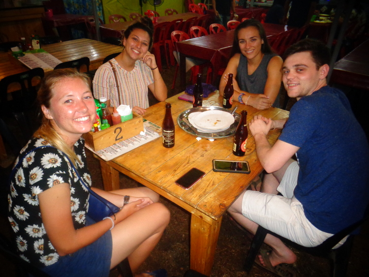 Peace Corps volunteer and friends from USA - 2019 Manggahan Festival's Fabulous Foam Party