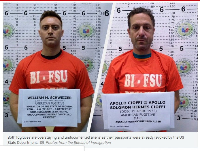 2 American fugitives arrested in Philippines ABS CBN News - American Fugitive Collared by BI Fugitive Search Unit