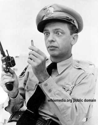 Barney Fife in the Philippines! Police seal muzzles of firearms for New Year revelry!