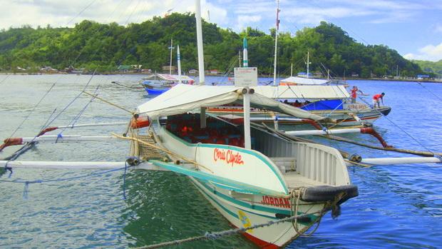 Banca boat Guimaras