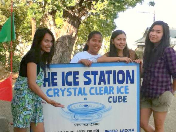 Ice cube and the Filipinas