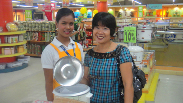 Philippines Shopping: Gaisano City in Iloilo