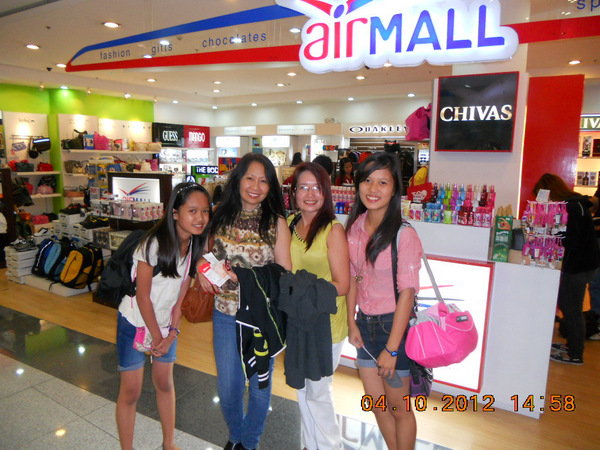 Air Mall at Domestic Terminal Manila