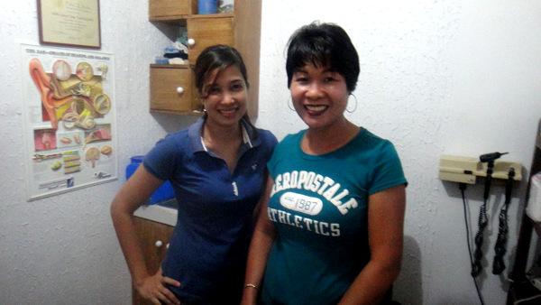 Dr, Melita Jesusa Suga T. Uy and my asawa