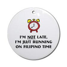 Filipino Time Button