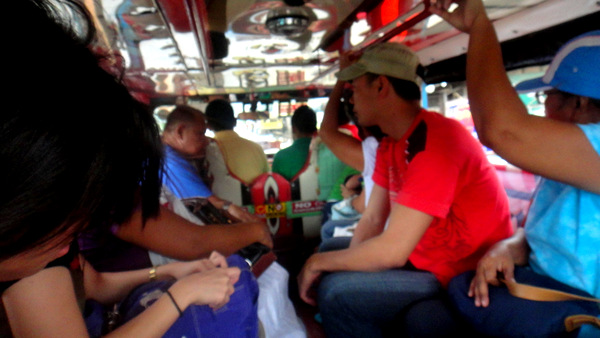 Riding the jeepney in Iloilo City