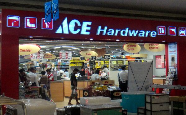 Ace Hardware at SM City in Iloilo