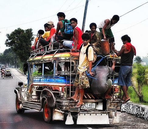 Overloaded Jeepney