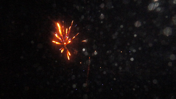 Fireworks in the Philippines