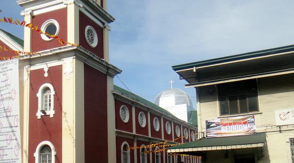 The Notre Dame dome in Iloilo City