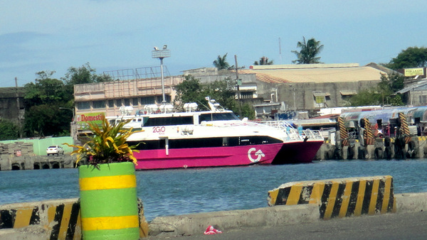 GO ferry in Iloilo