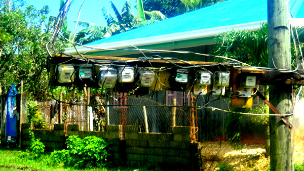 Electric meters in Guimaras