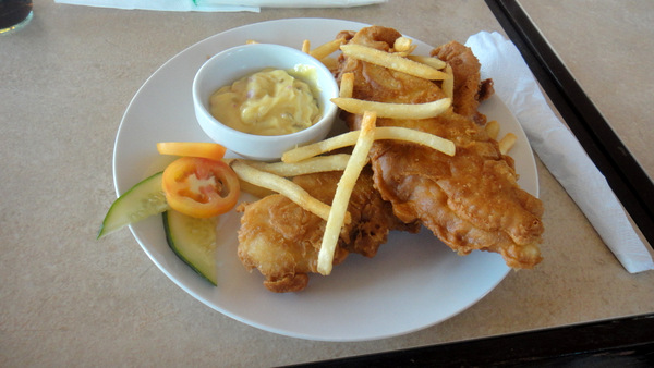 Fish and Chips at The Shirven in Guimaras