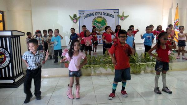 Gangnam Style Dance at the Guimaras Preschool