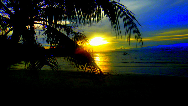 Sunset at Cabaling Beach in Guimaras