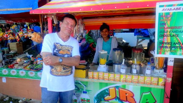 Mango Shake Girl and The Kano at Manggahan Festival in Guimaras
