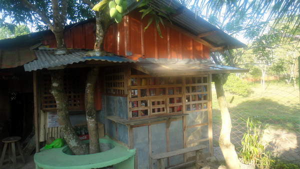 Nipa hut and sari sari store in Guimaras