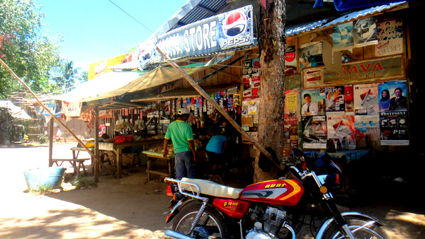 Sari Sari store in Guimaras