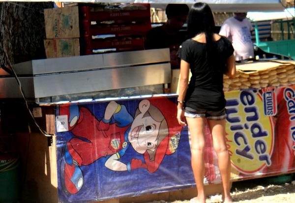 Cute Filipina at Manggahan Festival