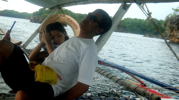 Joery and Alida take a snooze