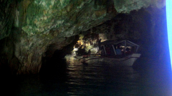 Pump goes into the cave near Guimars