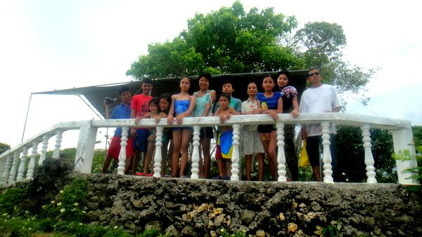 The crew at Lamurawan Beach Resort and Renewal Center of the Estoy-Gedalanga family, Guimaras