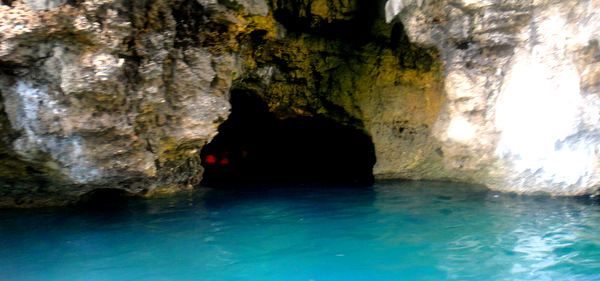 Underwater cave near Guimaras